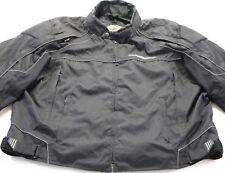mens harley davidson jacket 3xl black road warrior functional armor water proof