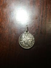 Saint michael Medal Antique Relic Devil