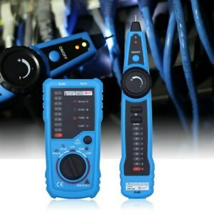 Wire Kabelfinder Leitungssuchgerät und Telefonleitungstester für Telefon LAN