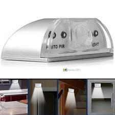 New IR Sensor Light Auto PIR Infrared Wireless Door Keyhole Motion 4 LED Lamp SS