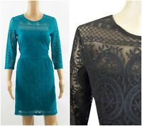 ex branded Lace Skater Fit & Flare Versatile Casual Party Dress