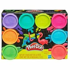 Play-Doh Neon Non-Toxic Modeling Compound - Pack of 8 Colours