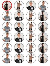 24 X GEORDIE SHORE SCOTTY T MIX WAFER/RICE PAPER BIRTHDAY CAKE TOPPERS