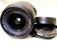 Canon EF-S 18-55mm f3.5-5.6 II USM Lens for digital rebel T6i T7i T7 70D Cameras