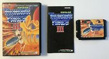 Thunder Force 3 - SEGA MEGADRIVE GENESIS - Japan Import Vgood