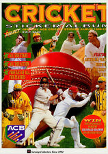 1996-97 Select Cricket Stickers Official Stickers Album-rare