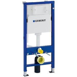 Geberit Duofix Basic Element für WWC, 112 cm mit Delta UP-SPK 12 cm, Wandanker