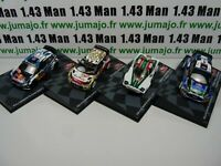 lot Ixo eaglemoss 4 Monte Carlo 1/43  Volkswagen Polo, Ford Fiesta, Ds3, Stratos