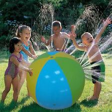 Bola de playa inflable al aire libre, piscina de agua de spray juguetes P161HC