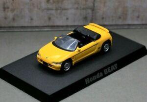 Aoshima 1/64 Light Weight Car Collection Honda PP1–100 Beat 1991 Yellow