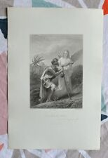 Bonita Grabado siglo XIX - Salmos de David - Camiseta - Ed. Willmann