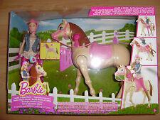 Barbie Reitpferd und Puppe