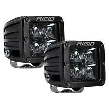 RIGID 202213BLK Pair of Midnight Edition Pro LED Lights D-Series Dually Spot PRO