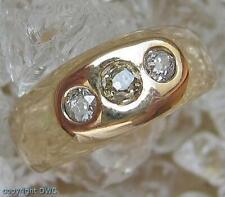 Damen Ring mit Diamant Diamanten Brillant Brillanten in 14 Kt. 585 Gold Gr. 60