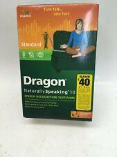 Dragon Naturally Speaking 10 Standard