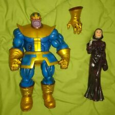 THANOS W/ DEATH & INFINITY GAUNTLET MARVEL SELECT action figure avengers legends