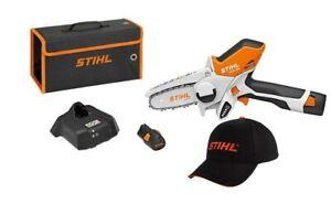 STIHL GTA 26 Akku Gehölzschneider Set mit Akku AS2 + Ladegerät AL 1 Gratis Mütze