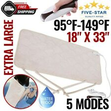 Electric Heating Pad For Shoulder Neck Back Spine Legs Feet Pain Moist Thermal
