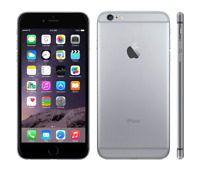Apple iPhone 6/ 6 Plus 6+ (Space Gray) UNLOCKED No Fingerprint Sensor Grade A+