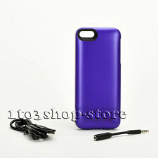 Mophie Juice Pack Helium 1500mha Battery Case For iPhone 5 5s iPhone SE Purple
