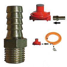 Adattatore regolatore pressione gas riduttore gomma raccordo tubo pressione
