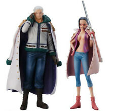One Piece Super One Piece Styling Smoker Shambles & Tashigi Shambles Figures