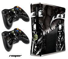 Skin Decal Wrap for Xbox 360 Slim Gaming Console & Controller Xbox360 Slim RPR B