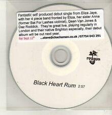 (CH783) Eliza Jaye & The Tarts, Black Heart Rum - DJ CD