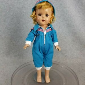 """13"""" vintage antique composition Shirley Temple Type Doll marked """"13"""" for TLC"""