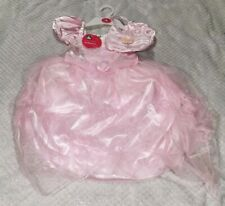 ELC Sparkly Princess Dress Up Fancy Dress Ball Gown with Bag Pink Aged 3-5 Years