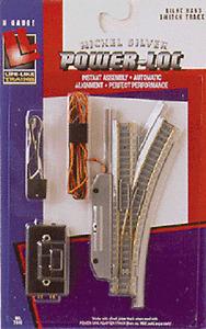 Life Like N Gauge Track RH Remote Switch  Right Link Power Loc NIB N/S 7810