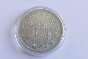 25.000 Lei Rumänien 1946 Michael I. silver coin