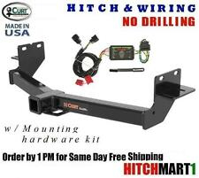 CURT TRAILER HITCH & WIRING FOR 2013-2017 HYUNDAI SANTA FE GLS w/ FACTORY TOW PK