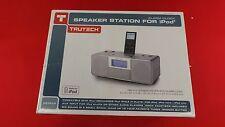 TruTech Alarm Clock Speaker System Station for iPod