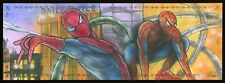 2019 UD Marvel Premier Spider-Man & Kingpin 4 Panel Mohammad Jilani Sketch Card