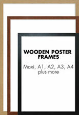 Poster Picture Frame Photo Frames Modern Picture Frame Wood Effect Maxi A1 A2 A3