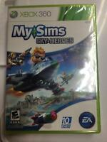 5 x My Sims Sky Heroes  (Xbox 360, 2010) Brand New Factory Sealed 5 Games
