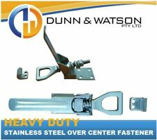 Dunn & Watson Heavy Duty Stainless Steel Over Center Fasteners - F0038