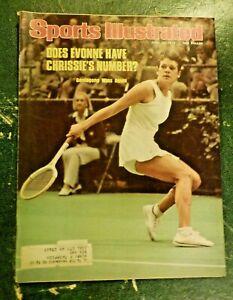 1976 Sports Illustrated April 26 Tennis Women's Evonne Chrissie's Goolagong