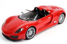 R/C 1/14 Radio Control Car  PORSCHE 918 SPYDER  Red  RC CAR