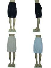 """23"""" - 28"""" Women Plain Long Half Slip Ladies 100% Polyester Size S M L XL 2XL 3XL"""
