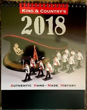 King & Country 2018 Desk Calendar for Toy Soldier Collectors