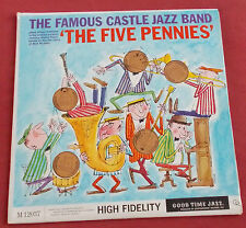FAMOUS CASTLE JAZZ BAND LP ORIG US THE FIVE PENNIES  1959