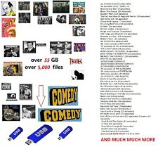 RADIO PROGRAMMES MP3. OVER 5,000 SHOWS ON A USB STICK.  OVER 55 GB