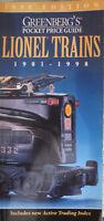 Greenberg's Pocket Price Guide Lionel Trains 1901-1998