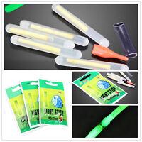 50Pcs Fishing Fluorescent Light Glow Float Lightstick 4.5*37mm Fishing Tools new