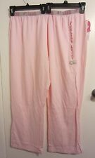 D'LISH by Daniella Simon Sleep Pants pajamas Pink VEGAS plus size 2XL NWT #1022