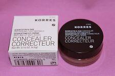 Korres Quercetin & Oak Anti-Aging Anti Wrinkle Concealer #04 Tan New In Box