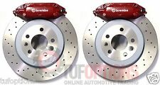 NEW Ford FPV Brembo Territory F6X 4 Piston REAR Disc & Caliper Set