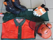 Sicherheits Set Latzhose Stiefel Helm Handschuhe Jacke 5in1 FPA,EN Norm TOP!